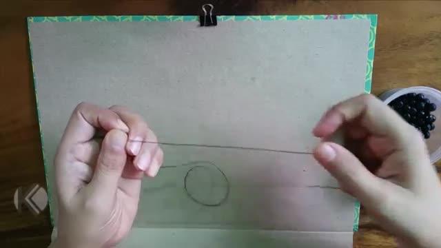 DIY, How To Make A Crystal Set (Beads) Easy ans simple | کاردستی، ساخت سِت کرستال، به شکل ساده