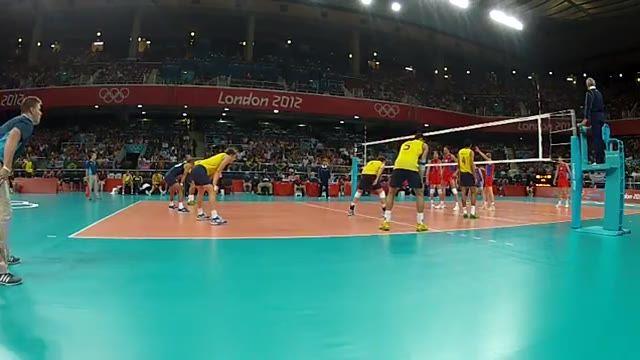 ویدیوی فنی - فینال المپیک 2012 (برزیل - روسیه) - اکشن 2