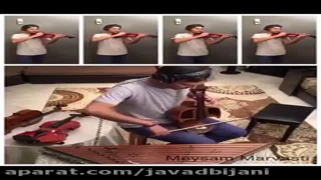 اجرای زنده ای موسیقی کارتون خاطره انگیزبچه های کوه آلپ توسط میثم مروستی