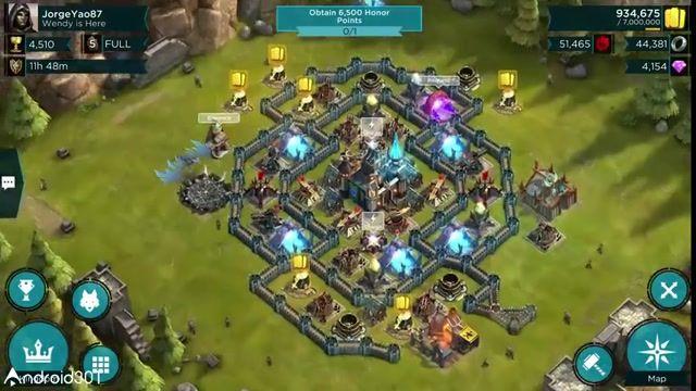 بازی آنلاین و استراتژیک پادشاهان عصر تباهی برای اندروید Rival Kingdoms