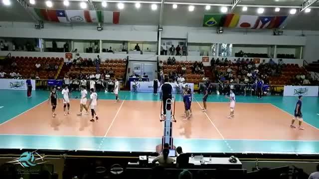 لحظاتی از دیدار ایران - ایتالیا