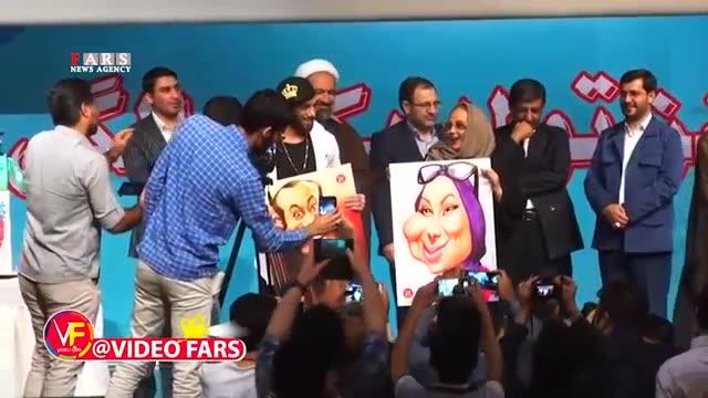 آشتی کنان امیر تتلو و بهنوش بختیاری در جشن تولد فارس پلاس / Amir Tataloo & Behnoosh Bakhtiari