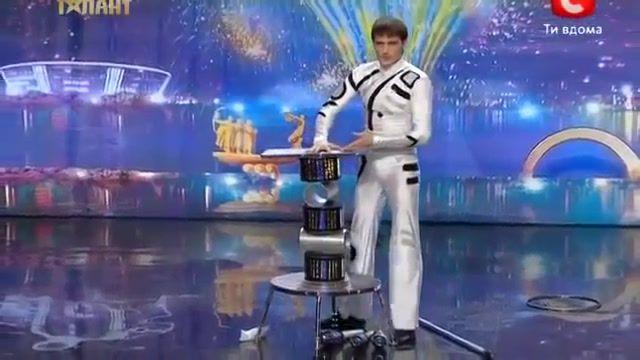 نمایش استعدادهای برتر در اوکراین
