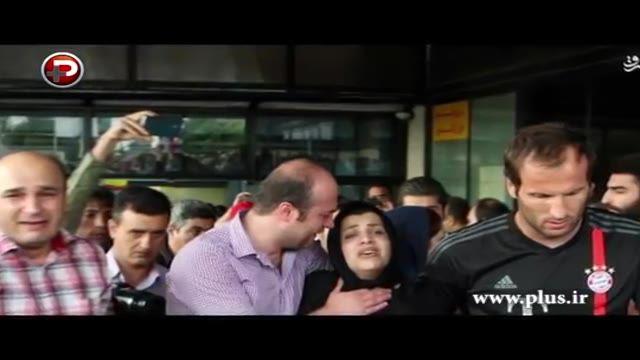ضجه های همسر هادی نوروزی وقتی می گفت بدون تو دیگر نمی خندم