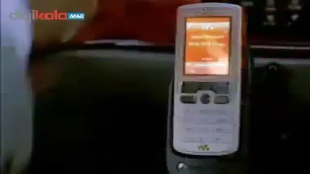 تیزر تبلیغاتی بسیار اکشن گوشی W800i سونی اریکسون