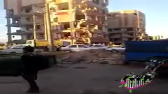 زلزله کرمانشاه تخریب مسکن مهر سرپل ذهاب