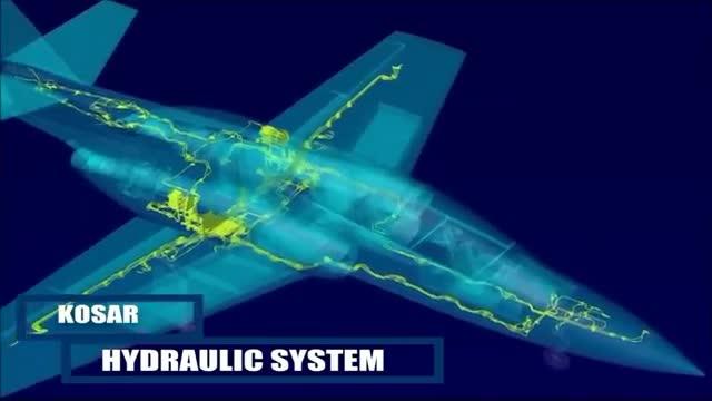 Iran IAIO made Combat Trainer Jet Kosar taxi test هواپیمای جت آموزشی کوثر ساخت ایران