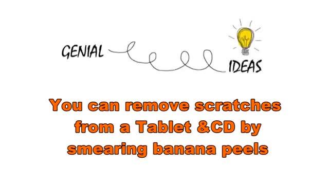 Banana Peel پوست موز را دور نریزید