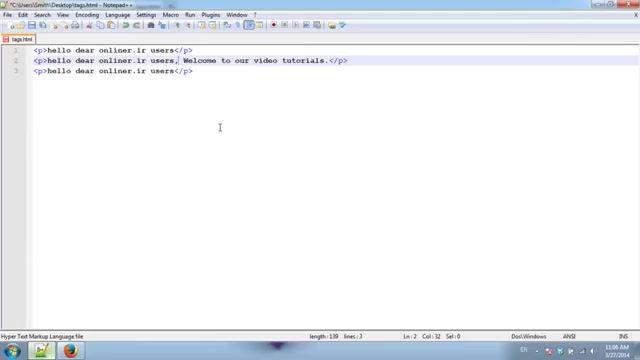 آموزش طراحی سایت با html   مفاهیم مقدماتی تگ های HTML