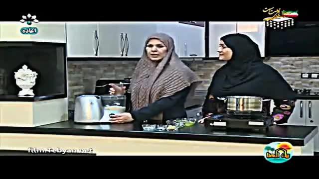 طرز تهیه شیرینی نارگیلی (به زبان عربی) شبکه خوزستان