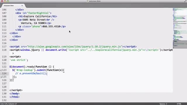 43- دریافت JSON در جی کویری jQuery