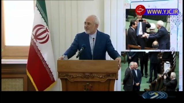 واکنش ظریف به انتشار عکسهای سلفی نمایندگان با موگرینی