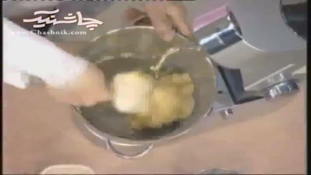 طرز تهیه شیرینی مغزدار لبنانی  