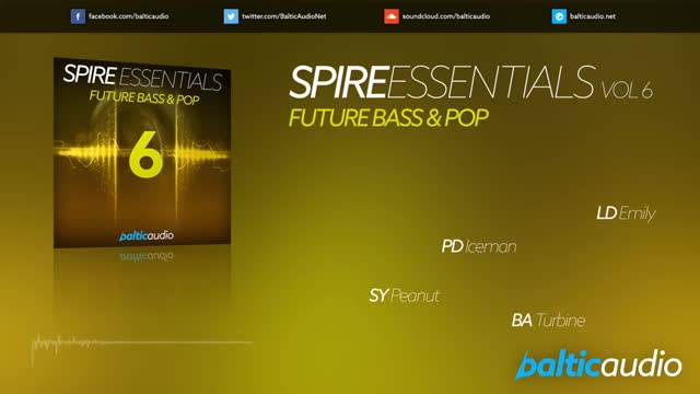 دانلود پریست های اسپایر Baltic Audio Spire Essentials Vol.6 Future Bass and Pop