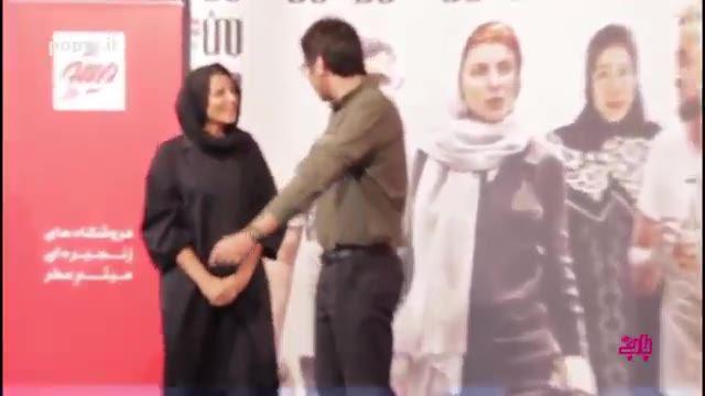 مراسم پرستاره اکران خصوصی فیلم من با حضور مهناز افشار، لیلا حاتمی، الناز شاکردوست و  ترانه علیدوستی