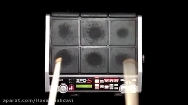ریتم پرکاشن Spds آهنگ خلیجی ناصر عبداللهی ساخته شده توسط حسن مهدوی