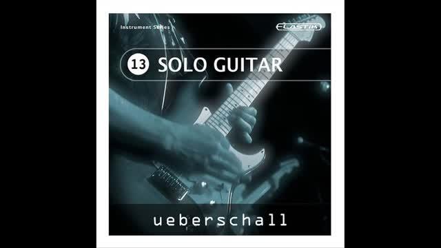 دانلود وی اس تی گیتار اکوستیک – الکتریک Ueberschall Solo Guitar Elastik