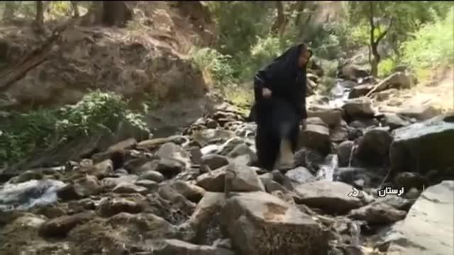 Iran Vark Waterfall, KhoramAbad county آبشار ورک شهرستان خرم آباد ایران