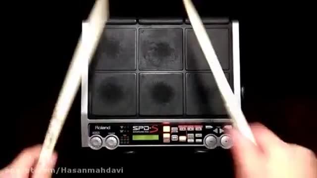 ریتم پرکاشن Spds آهنگ آذری بیژن مرتضوی ساخته شده توسط حسن مهدوی