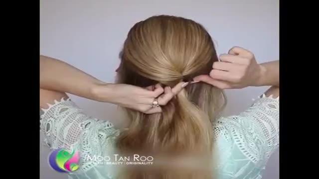 بافت مو شیک و جذاب