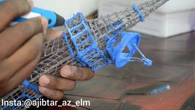 اسباب بازی جدید قلم سه بعدی برای ترسیم اشکال سه بعدی -