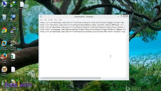 دانلود دسته ای فایل ها از اینترنت با استفاده از نرم افزار Internet Download Mana
