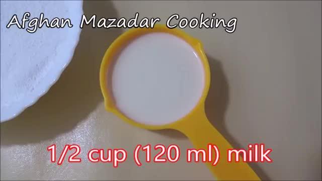 Zebra Cake Recipe  طرز تهیهٔ کیک دو رنگ کاکاو و ونیلا