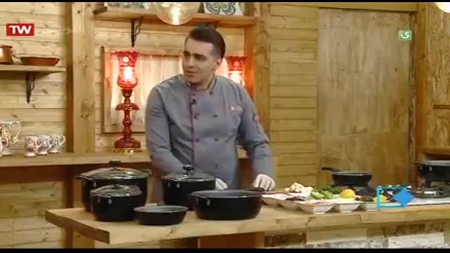آموزش آشپزی آسان- ماهی رول