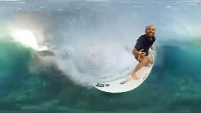 نمونه ویدیو منتشر شده از دوربین 360 درجه سامسونگ با نام Gear 360