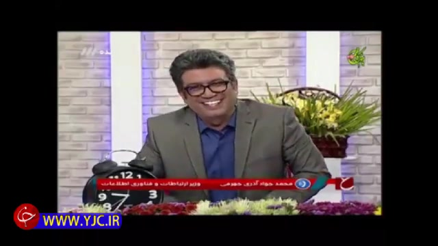 شوخی جهرمی وزیر ارتباطات برای حضور در برنامه حالا خورشید با رضا رشیدپور