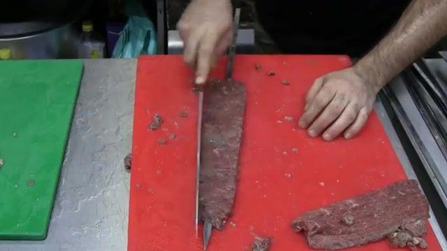 آموزش پخت کباب برگ خانگی