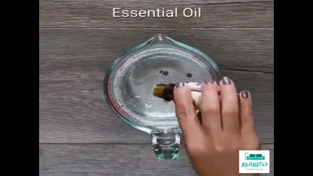 ویدیو آموزش ساخت صابون های تزیینی