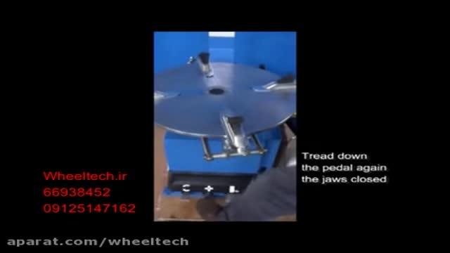 نصب و آموزس دستگاه لاستیک درار سواری APO 302