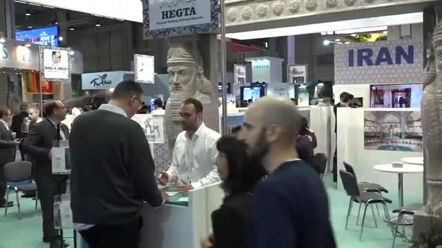دردسرهای همیشگی حمید معصومی نژاد. پشت صحنه در نمایشگاه گردشگری میلان ایتالیا فروردین 1396 (APR 2017)
