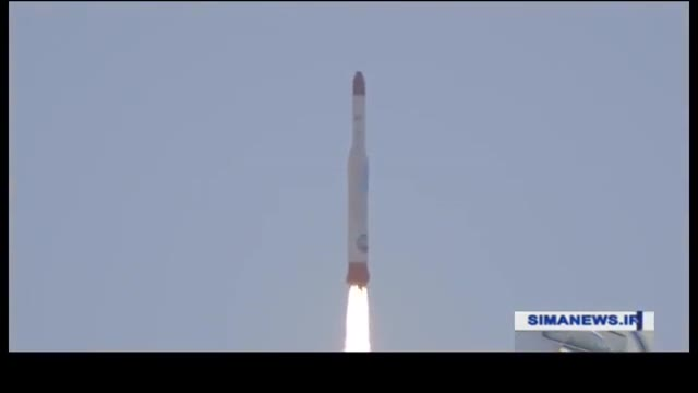 Iran made Simorgh launcher carries Tolou satellite into LEO orbit ماهواره طلوع ماهواره بر سیمرغ