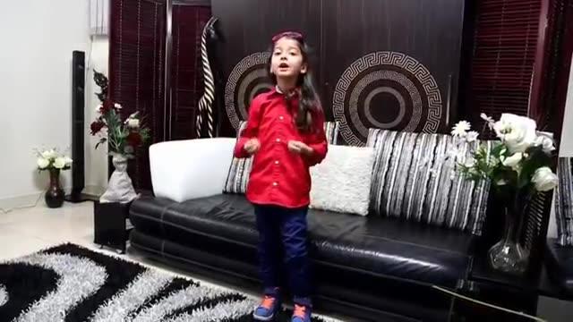 هنرنمایی دختر خوشگل ایرانی با آهنگ مهستی