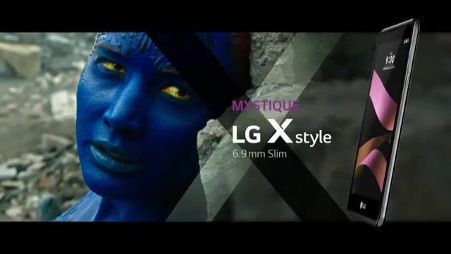 استفاده ال جی از  شخصیت های فیلم X-Men Apocalypse برای ویدیوی تبلیغاتی گوشی سری ایکس
