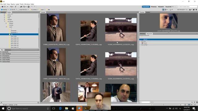 8- قسمت هشتم آموزش Adobe bridge توسط سعید طوفانی