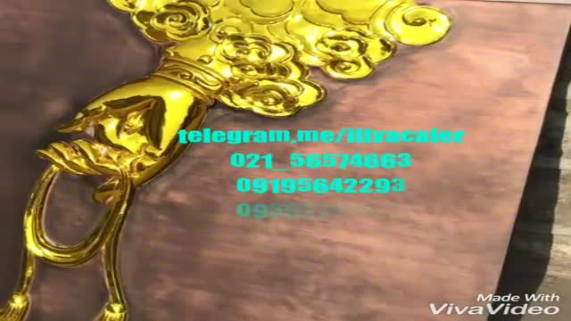 آبکاری پاششی فانتاکروم/جایگزین ورق طلا02156574663