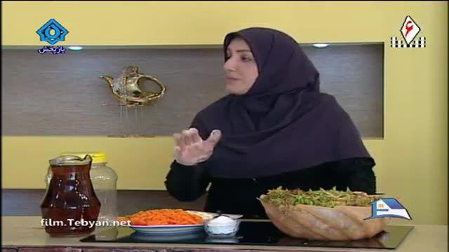 آموزش درست کردن ترشی توسط خانم جلیلی ( آموزش به زبان آذری)