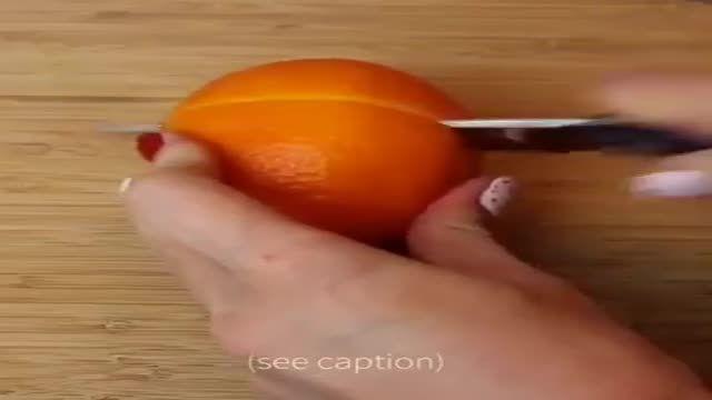 آب پرتقال برای پوست صورت ( ویدیو + توضیح)