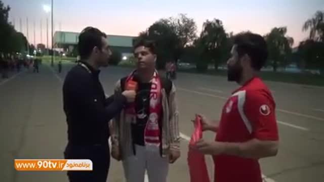 گفتگو با هواداران استقلال و تراکتور; نظر هواداران درباره شکایت بازیکنان سابق از باشگاه