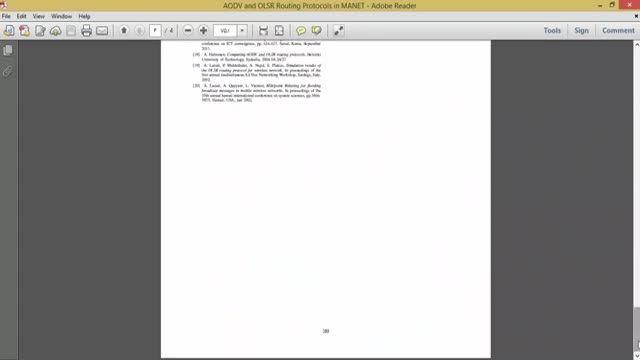 فیلم پروتکل های مسیریابی AODV و OLSR در MANET