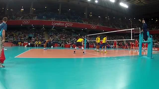 ویدیوی فنی - فینال المپیک 2012 (برزیل - روسیه) - اکشن 1