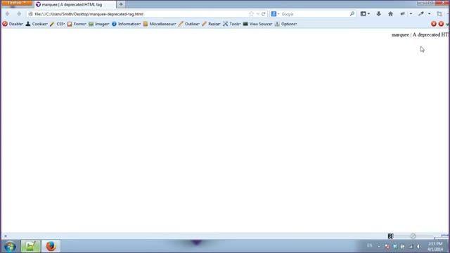 آموزش طراحی سایت با html | ایجاد متون و عکس های متحرک در HTML