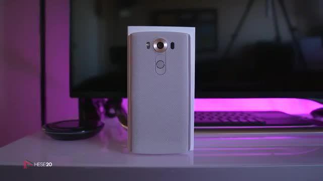 نقد و بررسی ویدیویی گوشی LG V10