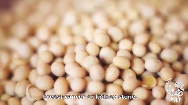شیر سویای خانگی انار سبز ☆ How to make soy milk