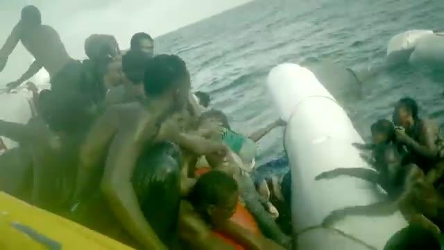 مرگ 1600 آواره در دریای مدیترانه در سال 2017