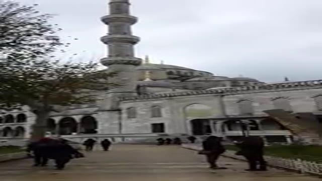 Ayasofya mescit,mosque,basilica in Istanbul,Turkey مسجد زیبای ایا صوفیا در استانبول ترکیه