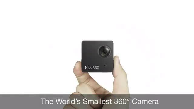 کوچکترین دوربین فیلم برداری  360 درجه دنیا  Nico360